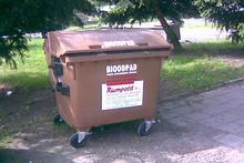 svoz biologicky rozložitelného odpadu