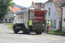 Svozsměsného komunálního odpadu