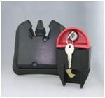 Popelnicový zámek s klíčem kód 2300